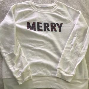 Christmas sleep sweatshirt Merry